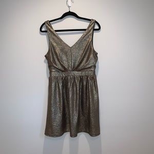 one clothing Dresses - Gold Sparkly Dress